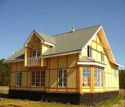 каркасный дом-1